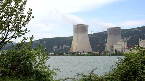 Cruas-Meysse nuclear plant in France