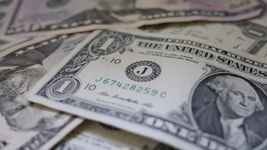 Variety of US Dollars on the table | Shutterstock HD Video #28249348