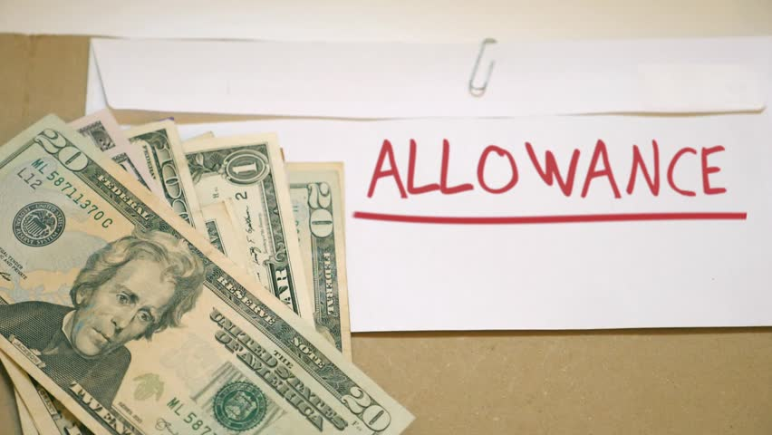 Header of allowance