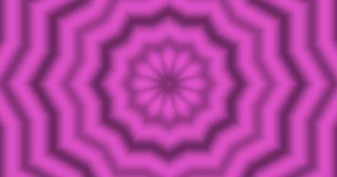 Pulse star kaleidoscope pink