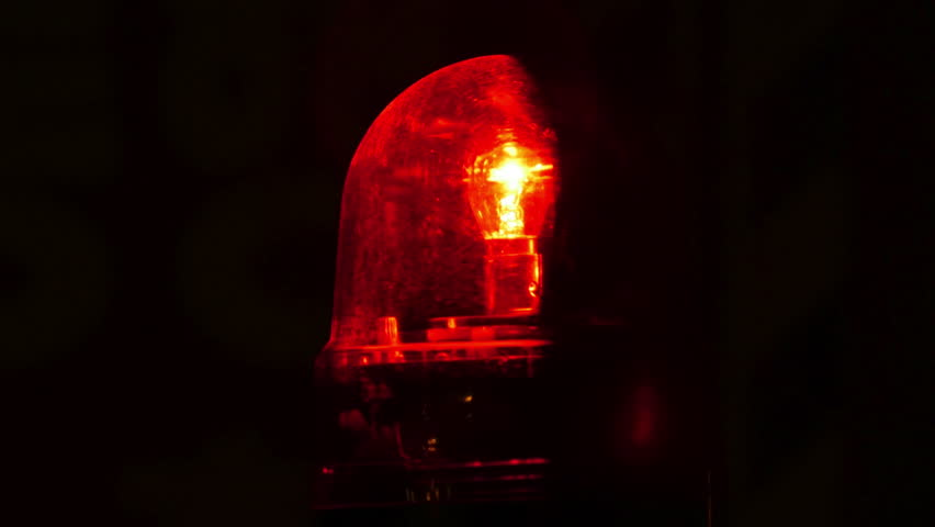 Close up of red flashing emergency light in timelapse | Shutterstock HD Video #28555198