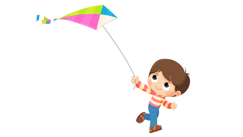 kite flying animation of a boy flying a kite in a field clip art field trials clipart field day at park