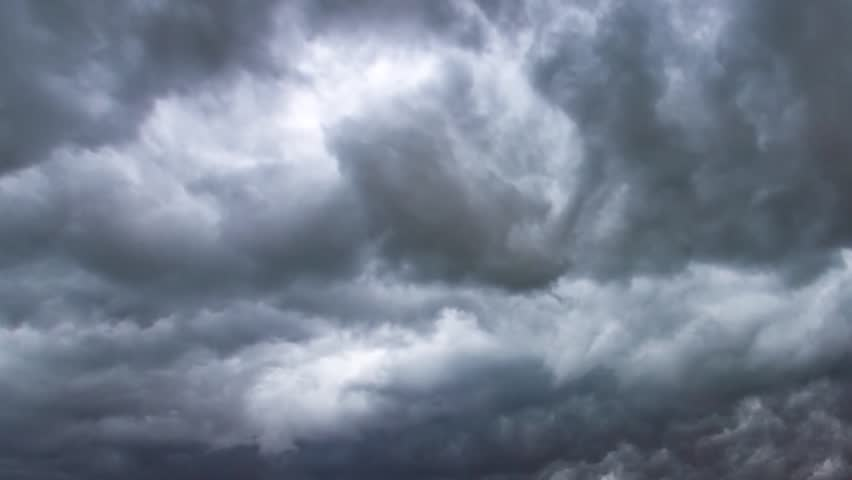 Real Rain Cloud real dark clouds fast moving, nature storm cataclysm clouds