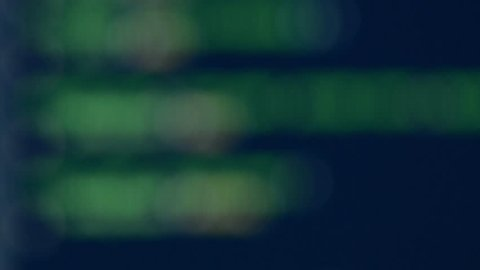 Blurry code abstract computer background.