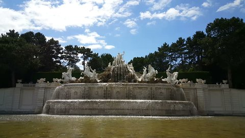 Neptune Fountain at Schonbrunn Palace, Vienna
