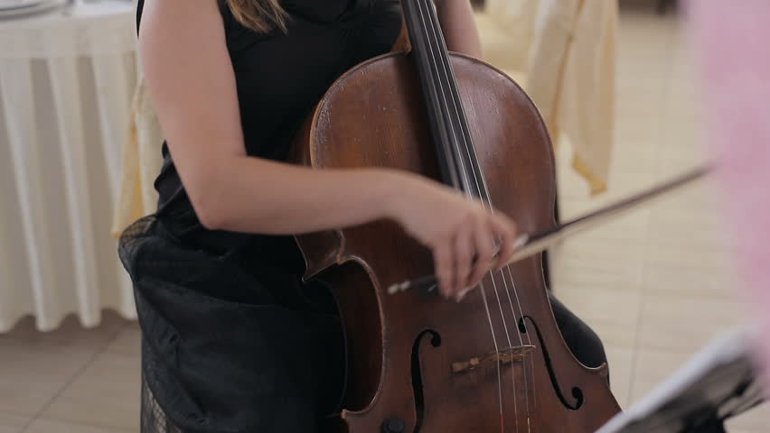 Cellist playing classical music on cello. Close-up | Shutterstock HD Video #29152708