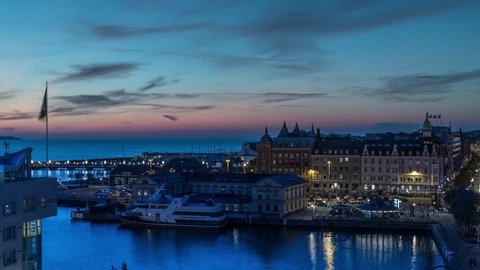 Time lapse of downtown Helsingborg