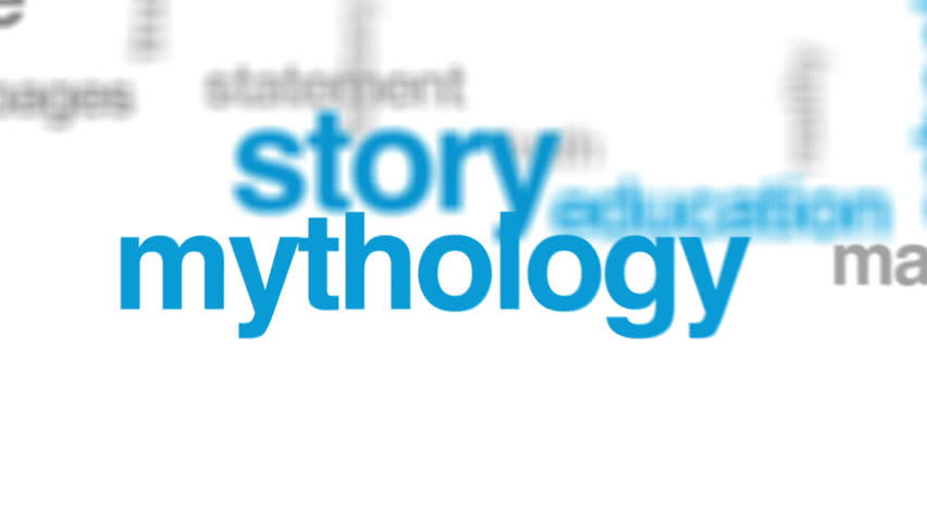 Myth animated word cloud, text design animation. | Shutterstock HD Video #29281288