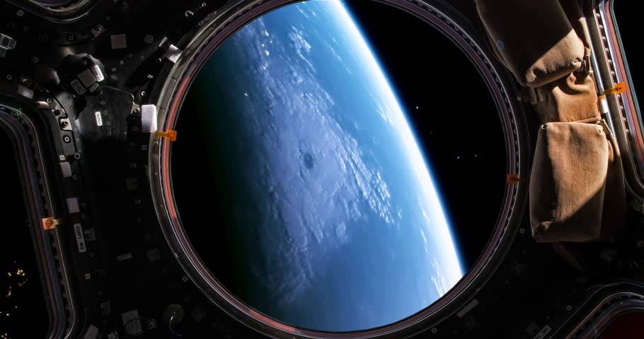 Planet earth viewed through the windows of a space shuttle, version 1, please also see version 2. | Shutterstock HD Video #29403958