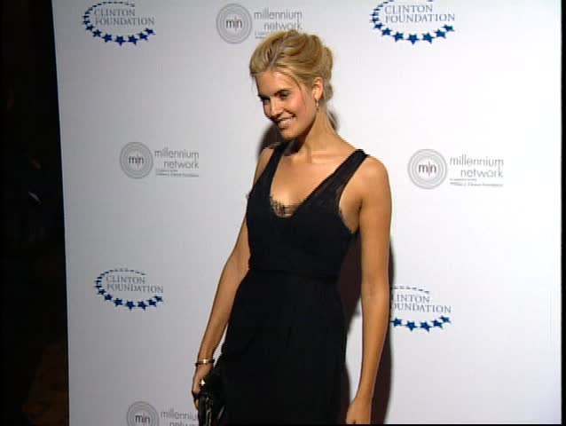 Hollywood Blvd., CA - APRIL 30, 2009: Maggie Grace, walks the red carpet at the William Clinton Foundation Millennium Network Event held at the Hollywood Roosevelt Hotel