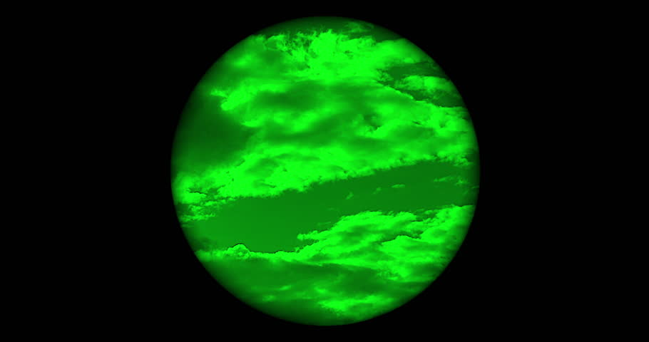 Searching the sky with single night vision scope, no reticle | Shutterstock HD Video #29512558