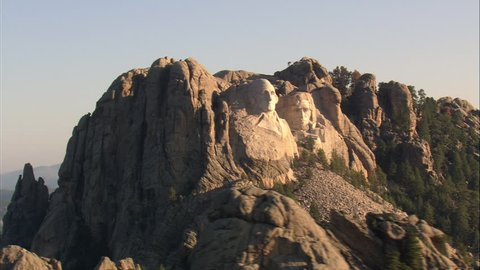 Mount Rushmore In Early Morning