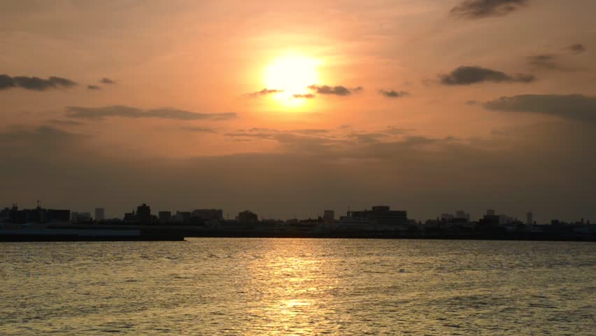 Sunset in Tokyo   Shutterstock HD Video #29646928