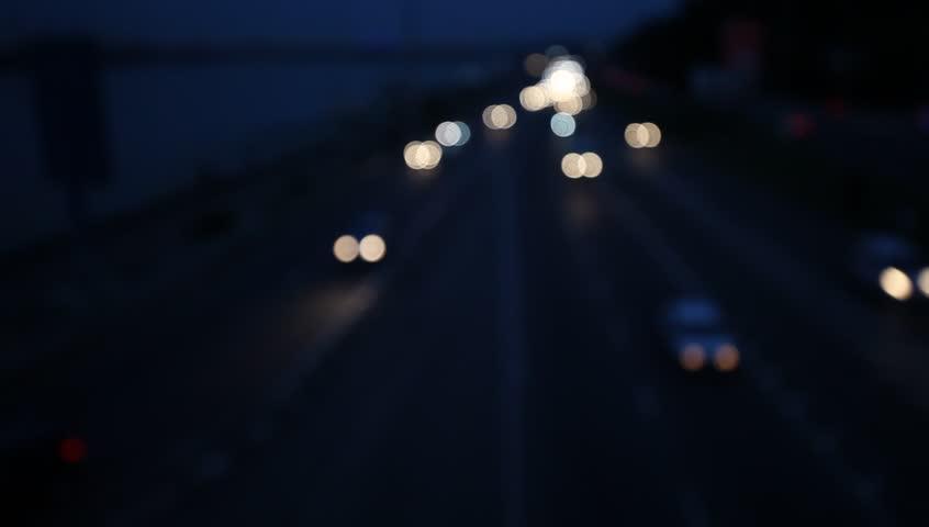Night traffic city lights | Shutterstock HD Video #29754748