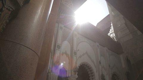 MOROCCO, Casablanca - JULE 20:  Hassan II mosque Jule 20, 2012 in Morocco, Casablanca.