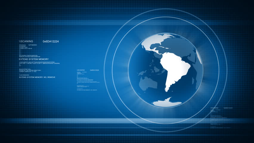 News global background animation stock footage video 5008814 shutterstock - Digital world hd ...