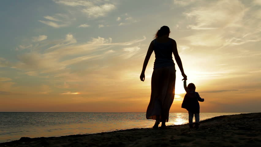 Image result for Mom and child walking