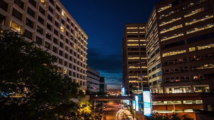 hartford time lapse between buildings
