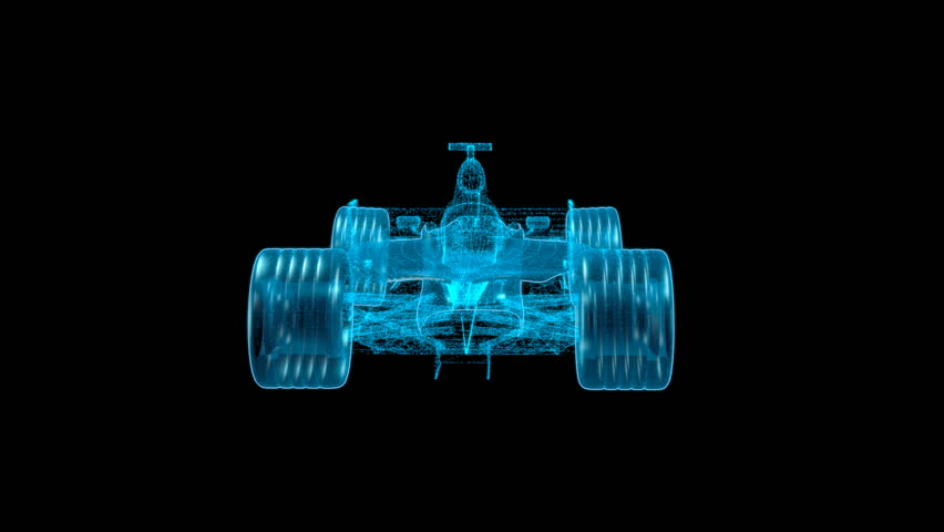 Formula One on a black background | Shutterstock HD Video #2990968