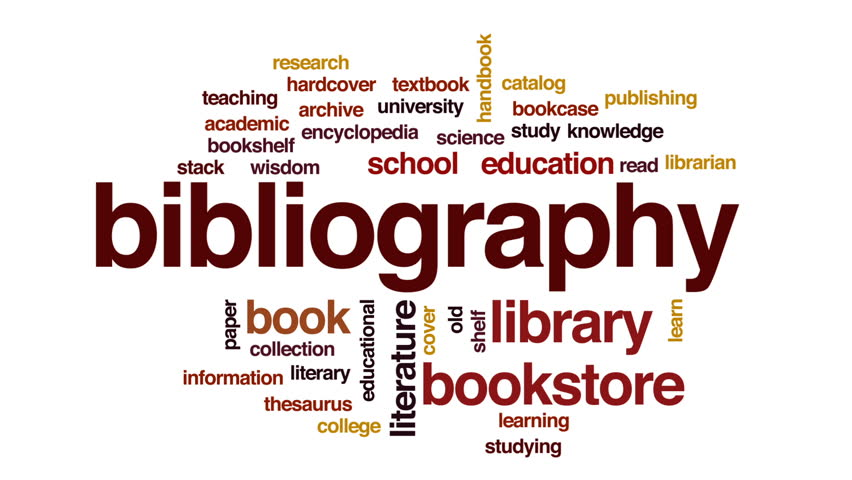 bibilography Bibliography definition, a complete or selective list of works compiled upon some common principle, as authorship, subject, place of publication, or printer.