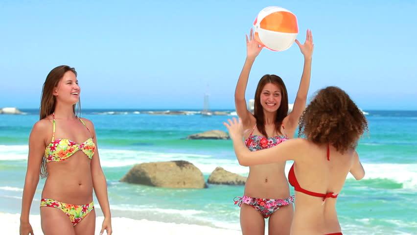 Видео пляж девушки фото 75-202