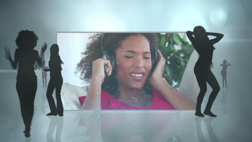 девушки в комбинации видео и фото
