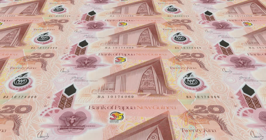 Banknotes Of Twenty Papua New Stock Footage Video 100 Royalty Free 30174628 Shutterstock