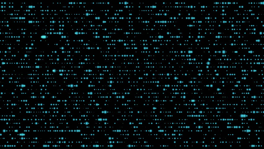 Abstract digital motion graphics data flow transfer blue on black background 4K | Shutterstock HD Video #30177568