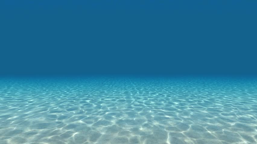 Underwater light ripples
