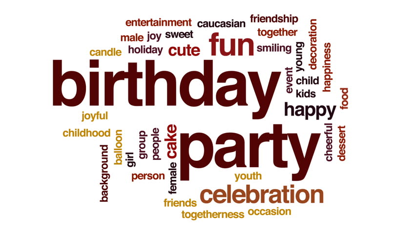happy birthday animated text free motion graphics backgrounds