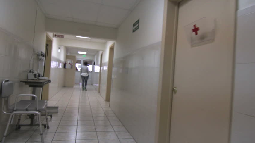 Stock Video Of Indoors Hospital Hallway Recovery