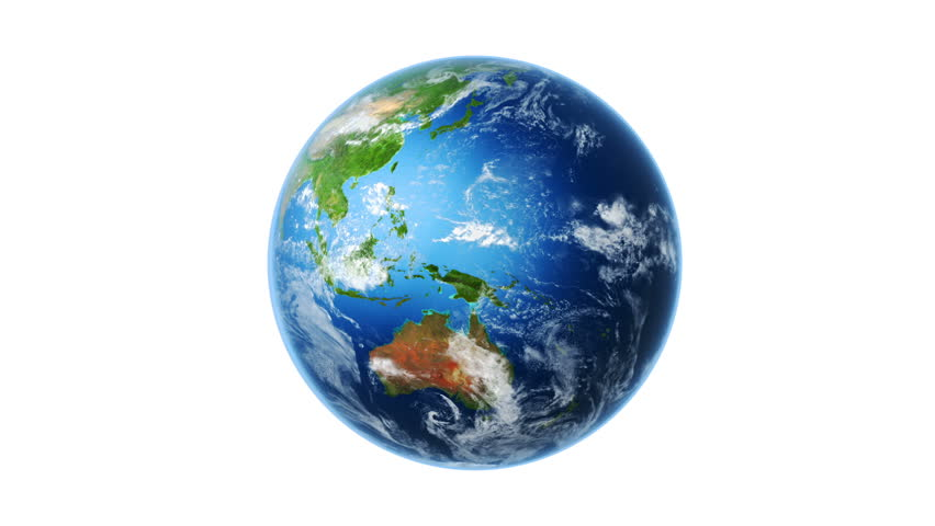 Revolving Earth Globe Graphic Stock Footage Video 3661667 ...