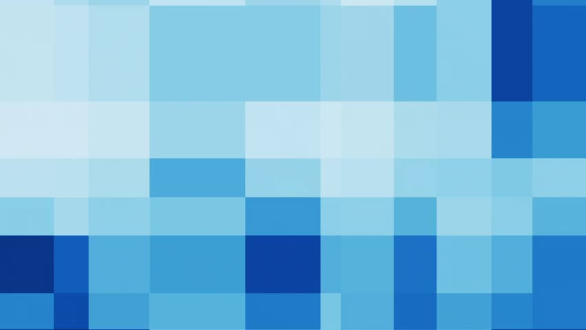 bocks are continuously changing shades of blue. looping stock