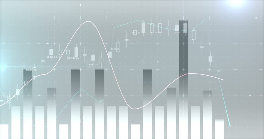 Digital composite of various financial charts 4k | Shutterstock HD Video #30694888