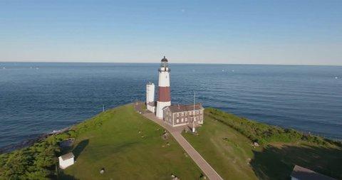 Montauk Lighthouse Aerial 01
