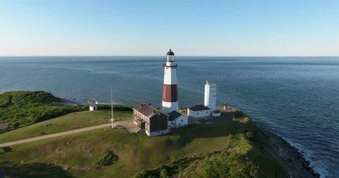 Montauk Lighthouse Aerial 02 - Orbit