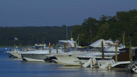 Docked Boats 02