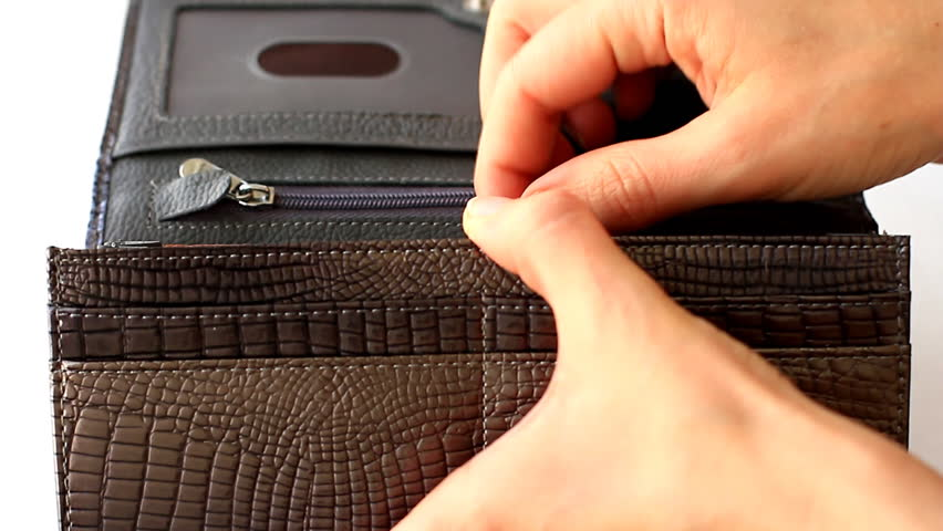 Greedy hides hundred dollars back to wallet