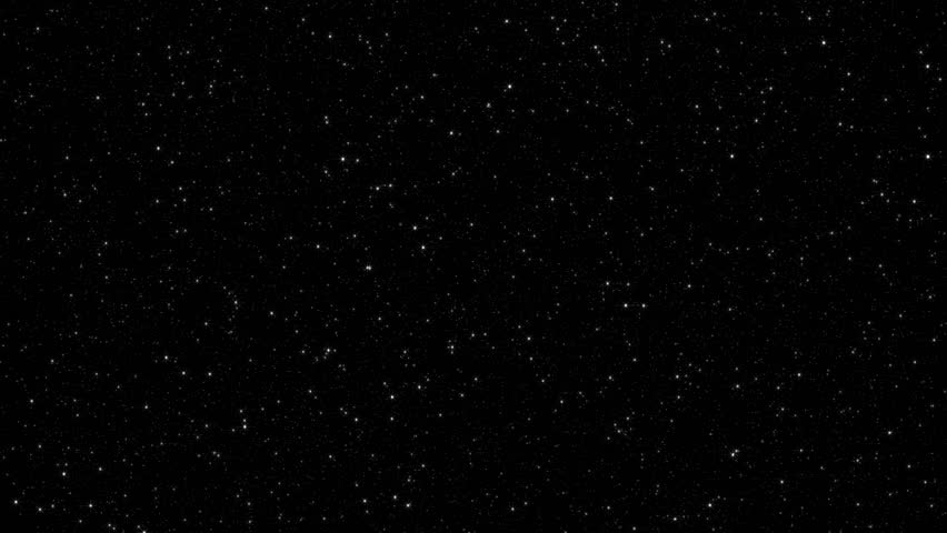 Perfectly seamless loop with twinkling star field. Hundreds and hundreds of stars are displayed in fine detail. Created at HD 1920x1080 widescreen.