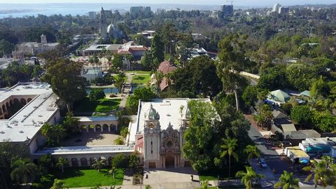 San Diego Balboa Park - Drone Video Aerial Video of Balboa Park is a 1,200-acre urban cultural park in San Diego, California, United States.
