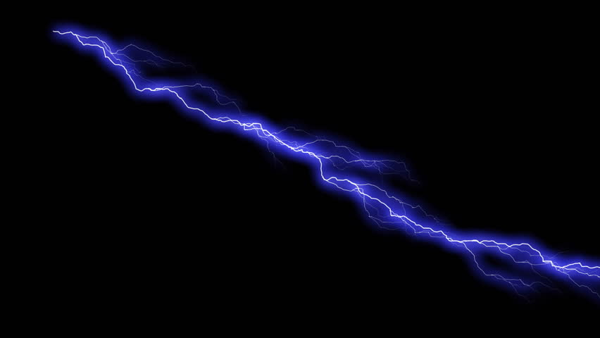 Stock Video Of Animated Lightning Series