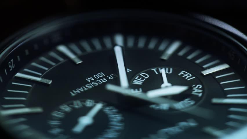 Macro watch time lapse | Shutterstock HD Video #3101107