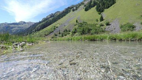 mountain stream Ganerabach Austria