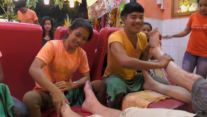 Siem reap nightlife massage