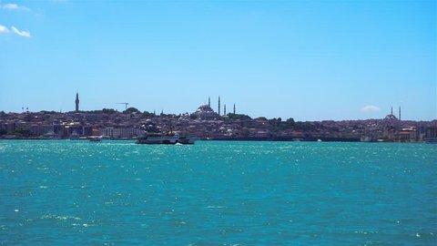 Istanbul - Suleymaniye Camii Hyperlapse