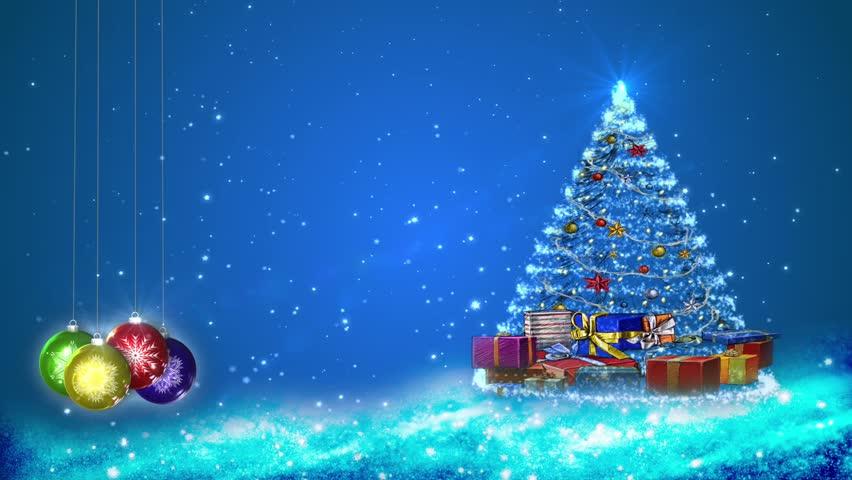 vídeo stock de motion graphics of snowflakes and 100 livre de