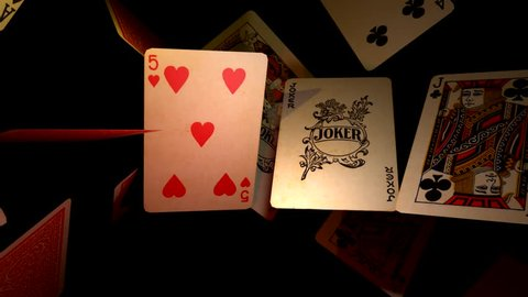 DANCE OF POKER CARD, FLIP FLOP CARDS 1