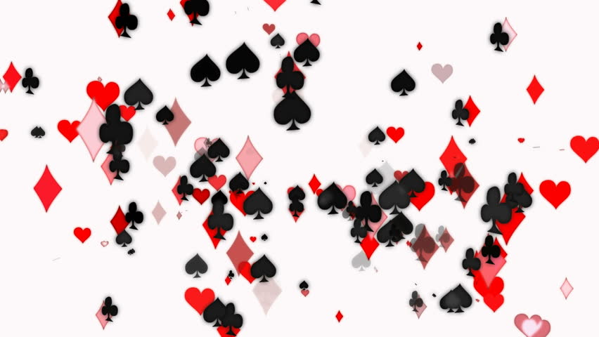 flying playing card elements