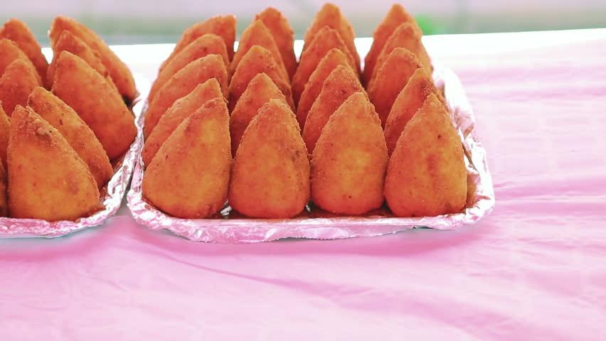Arancini Rice Balls | Shutterstock HD Video #31298368