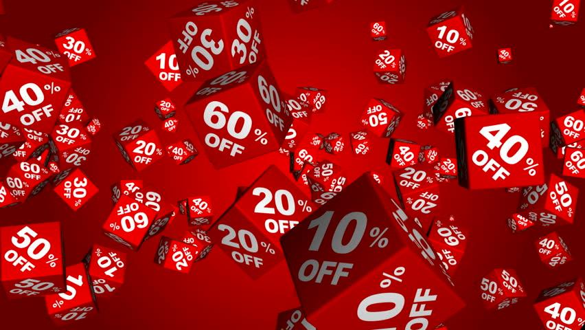 Discounts cubes (loop able, alpha) | Shutterstock HD Video #3156298